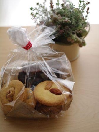 型抜き&形無し万能クッキーとダブルチョコレートパウンド