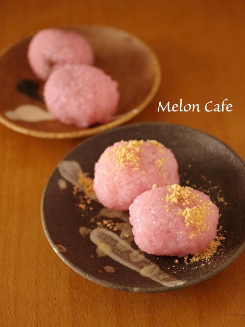 レンジで超簡単桜餅