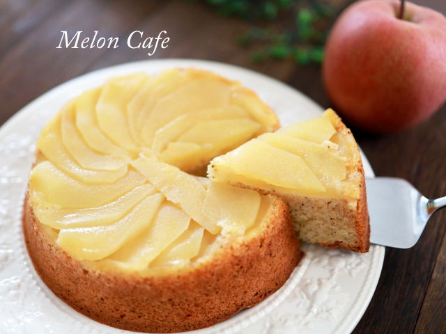 HMで簡単りんごと紅茶のアップルティーケーキ