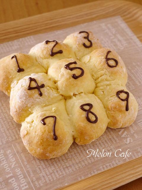 ホットケーキミックスで簡単豆乳ちぎりパン05