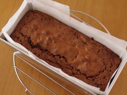 ホットケーキミックスで簡単チョコレートブラウニー05