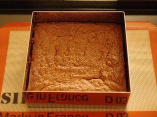 チョコレートガナッシュのクリスマスケーキ08