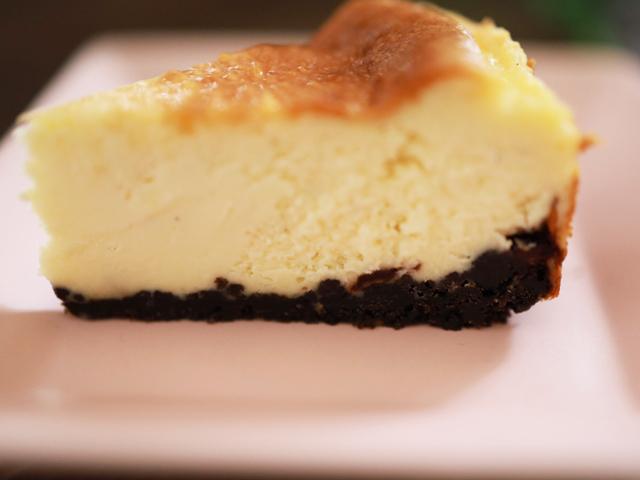 チョコチップココア台のチーズケーキ03