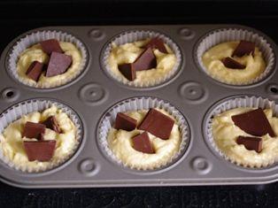 チョコざくざくカップケーキ06