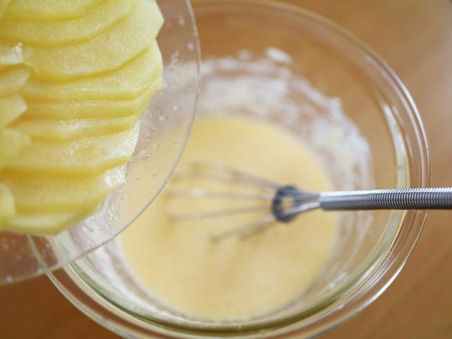 HMで簡単りんごと紅茶のアップルティーケーキ07