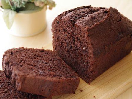 ダブルショコラのパウンドケーキ