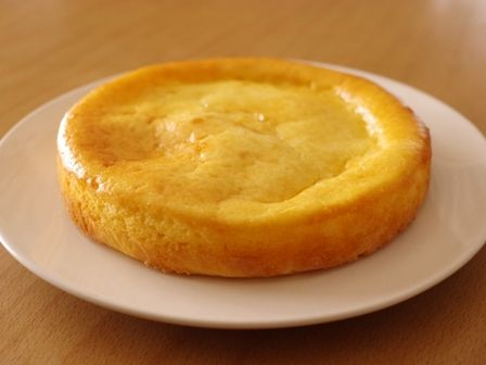 ホットケーキミックスとヨーグルトで、クリームチーズ節約ベイクドチーズケーキ05