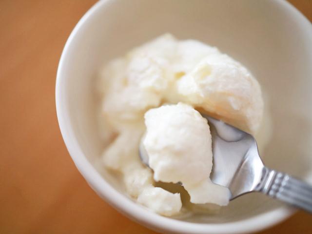 パイナップル缶詰で手作りアイスクリーム05