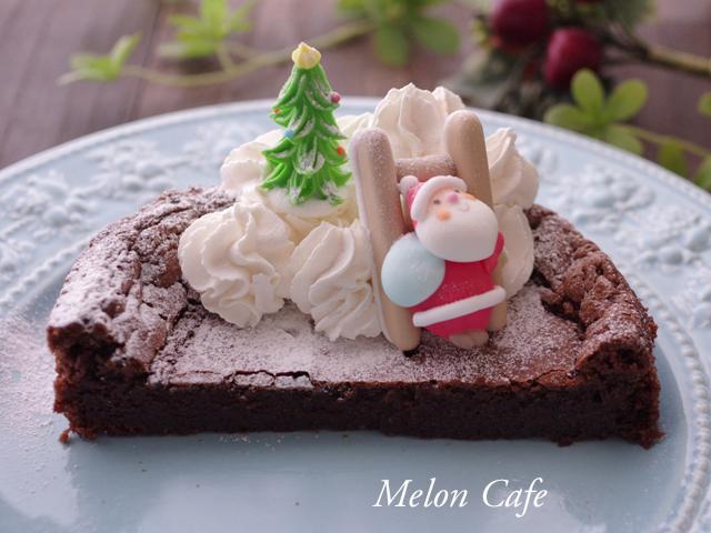 ホットケーキミックスで簡単ガトーショコラ01