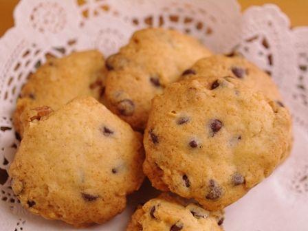 チョコとクルミの簡単さくさくクッキー08