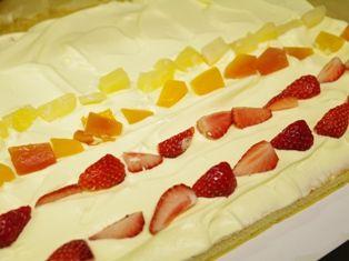 トリプルロールケーキ作り方