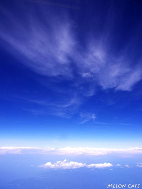 飛行機から見た空2014
