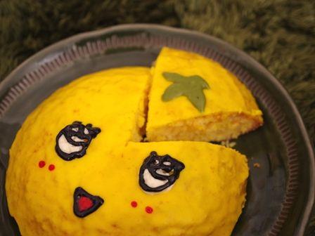 船橋市非公認キャラふなっしーのドームケーキ00オマケ