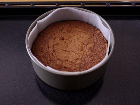 簡単手順で本格ガトーオショコラのクリスマスケーキ13