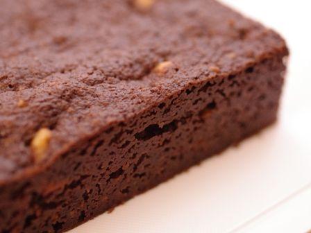 クルミのチョコレートブラウニー10
