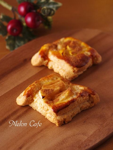 ホットケーキミックスで簡単デニッシュパンりんごシナモン