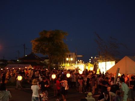 地元夏祭りの光景05