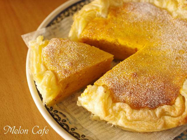 ホットケーキミックスで簡単かぼちゃチーズケーキ00