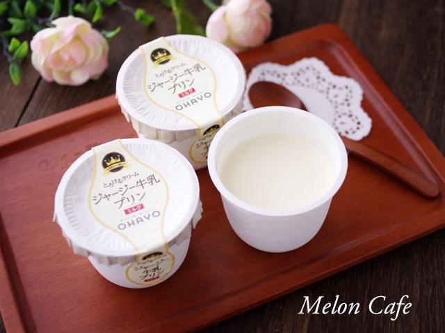 おすすめプリンのオハヨー乳業ジャージー牛乳プリン01