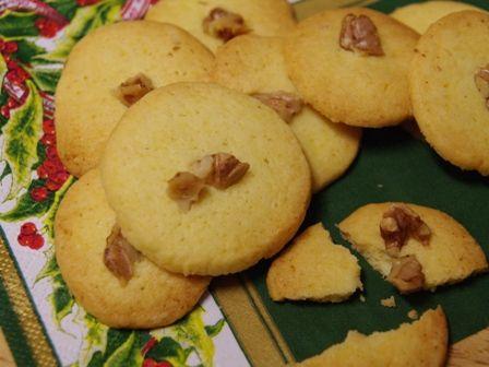 サクサク香ばしいアイスボックスクッキー