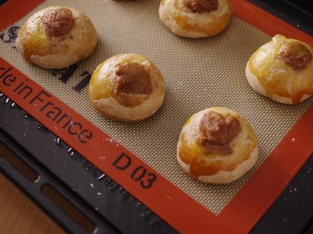 ホットケーキミックスで作る簡単栗パン03