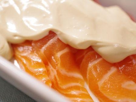 ノルウェーサーモンのクリームチーズソース02