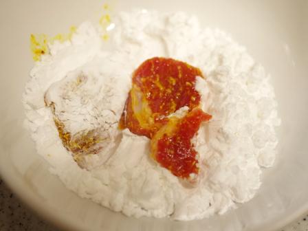 豚ロースのピリ辛ターメリック焼き02