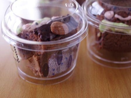 簡単本格チョコレートブラウニープリンちゃんとブラウニーとうさん02