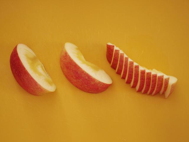 簡単りんごのバスクチーズケーキ08
