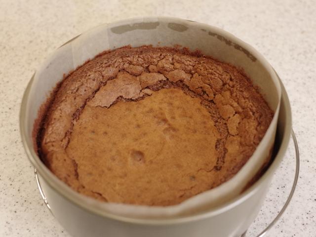 ホットケーキミックスで簡単ガトーショコラ10