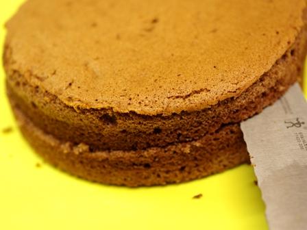 チョコレートのクリスマスケーキ03