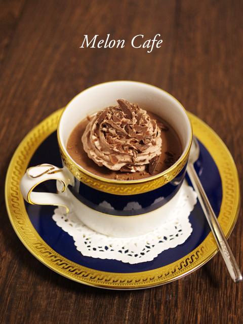 カルダモンとチョコと珈琲のカフェモカプリン