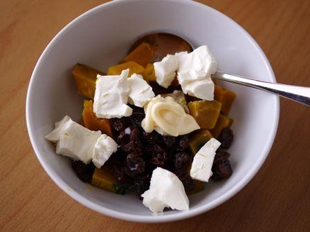 カボチャのクリームチーズサラダ02