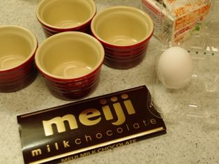 チョコレートプリンa