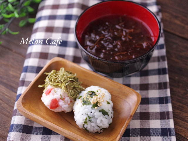 石巻の井上海産物店で朝食レシピ01