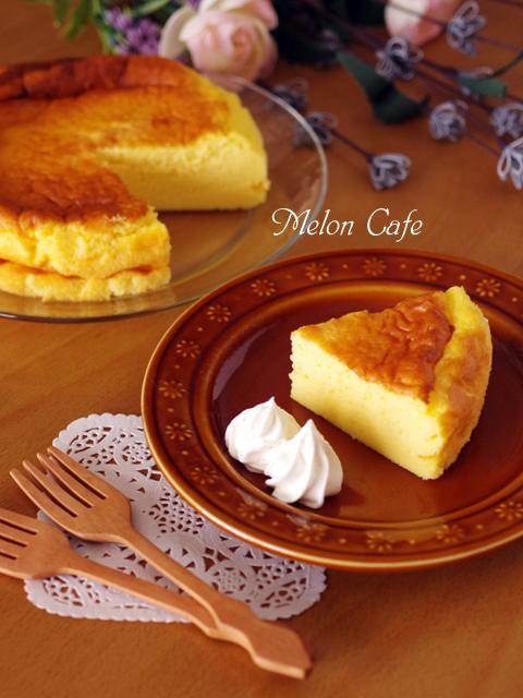 ホットケーキミックスで簡単スフレチーズケーキ06