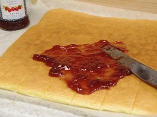 バースデーケーキ手順1