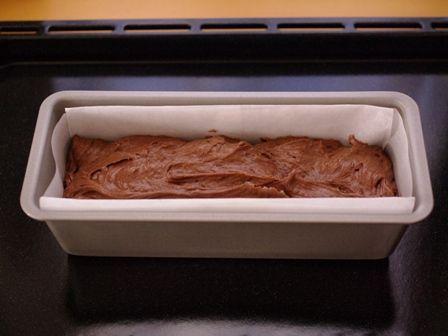 新幹線ケーキ用チョコレートパウンド04