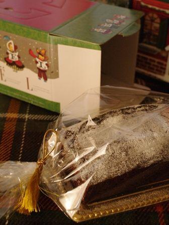 クリスマスの簡単チョコレートケーキ00