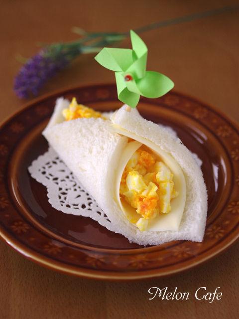 サンドシナイッチ卵サラダ風車ピック01