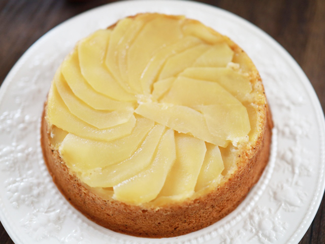 HMで簡単りんごと紅茶のアップルティーケーキ02