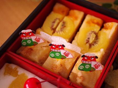 スイーツおせちお菓子のおせちmeloncafe201501