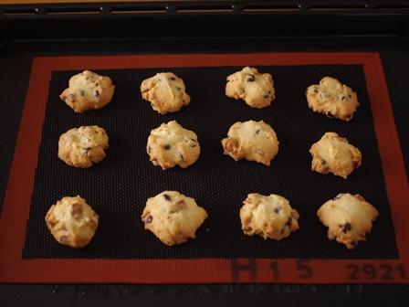 チョコチップ入りナッツクッキーアメリカンタイプ03