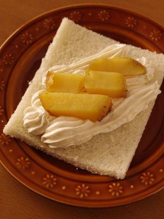 サンドシナイッチ焼き芋でスイートポテト風01