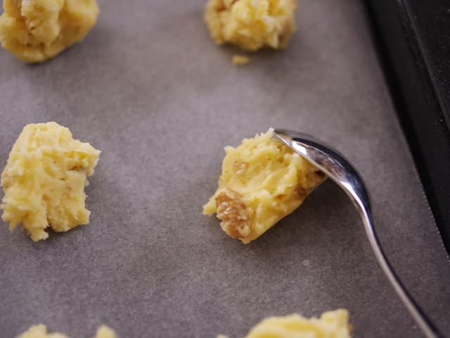 簡単くるみ入りのふわサククッキー05