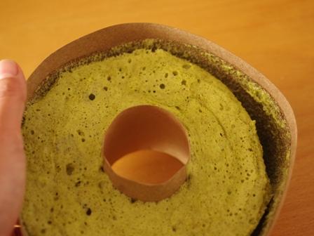 春のおもてなしレンジとHMの簡単抹茶シフォンケーキ05