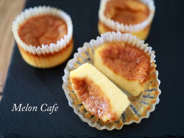 ホットケーキミックスでバスクチーズケーキ00