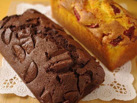 パウンドケーキ2種お土産用