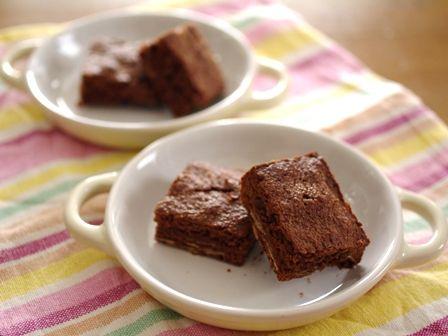 香ばしアーモンドのチョコレートブラウニー