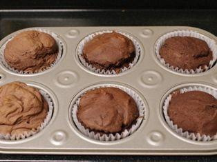アレルギー対応のチョコレートケーキ